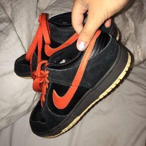 Sick Orange/Black Vintage AF1s!
